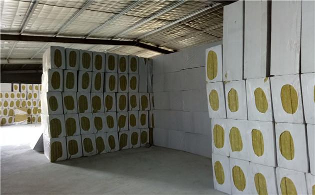 外墙保温岩棉板图片