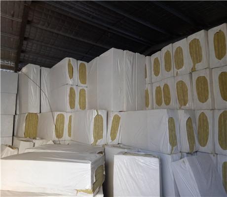 复合岩棉保温板图片
