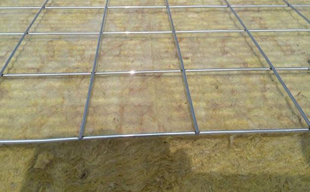 钢网插丝河北复合岩棉板图片